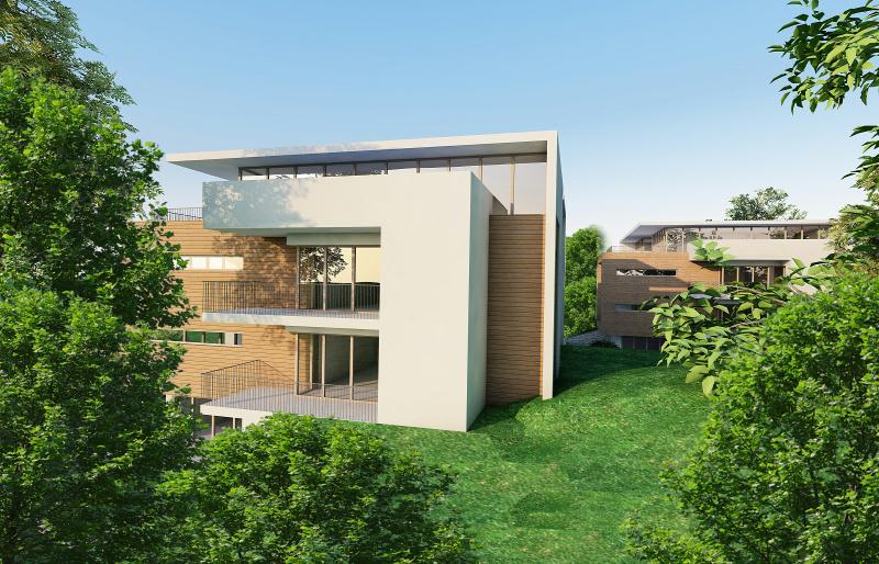 Alto adige laghetti egna bz edifici residenziali for Palazzine moderne